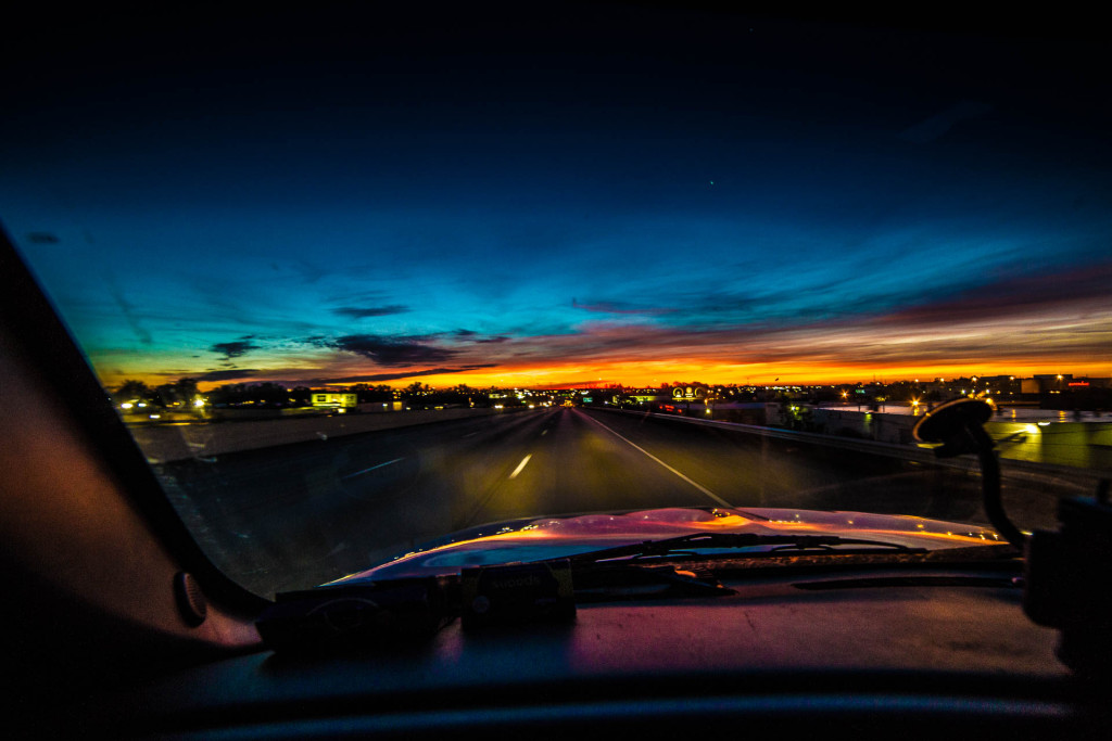 I don't miss the early morning drives, but the sunrises were pretty special.